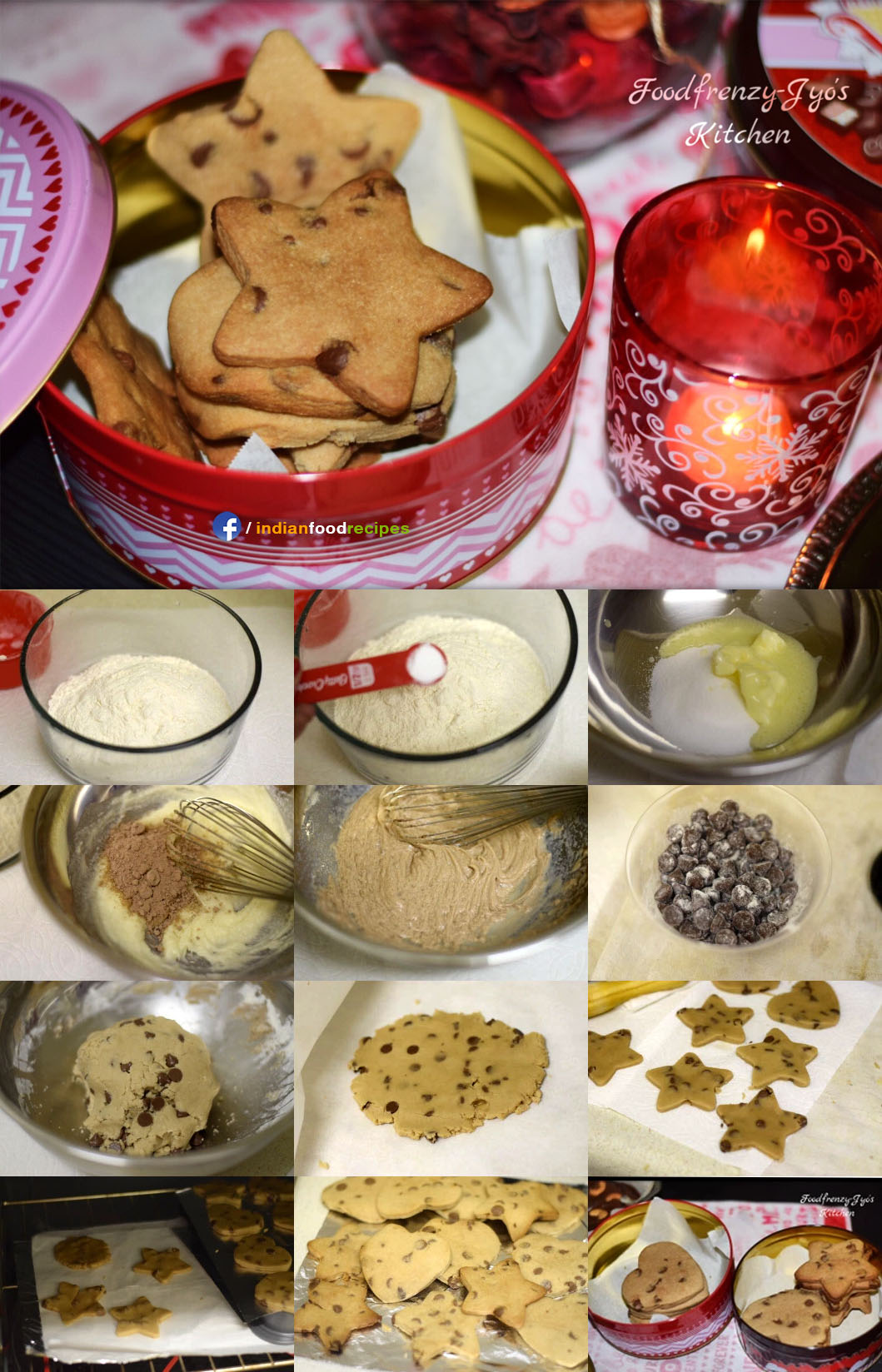 Choco Chip Cookies recipe step by step